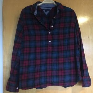 Tommy Hilfiger, Woman's plaid flannel